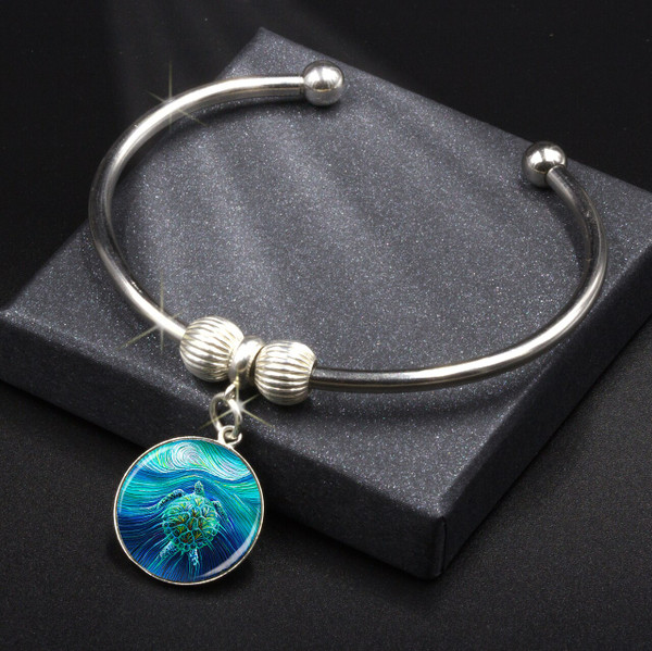 Turtle Spirit Energy Charm Bracelet