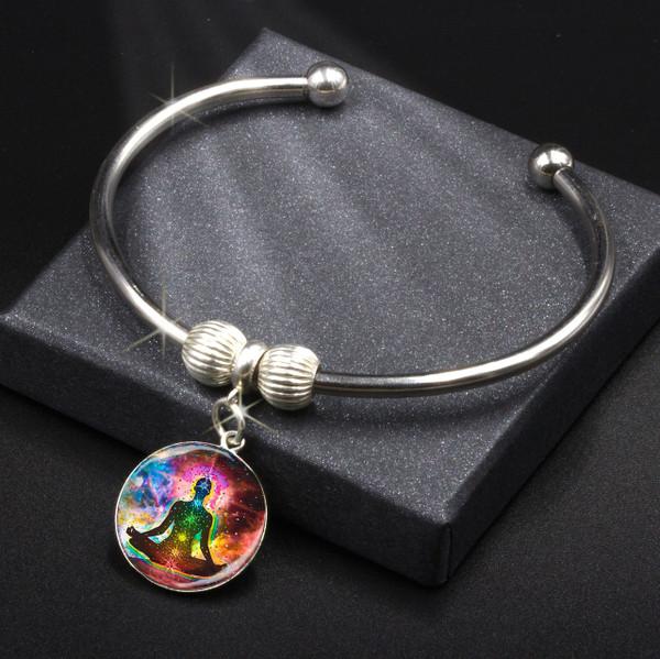 Chakra Healing Energy Charm Bracelet