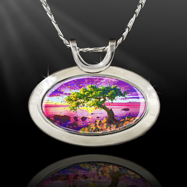 The Forgiveness Tree  Energy Pendant - From the Magic Chi collection