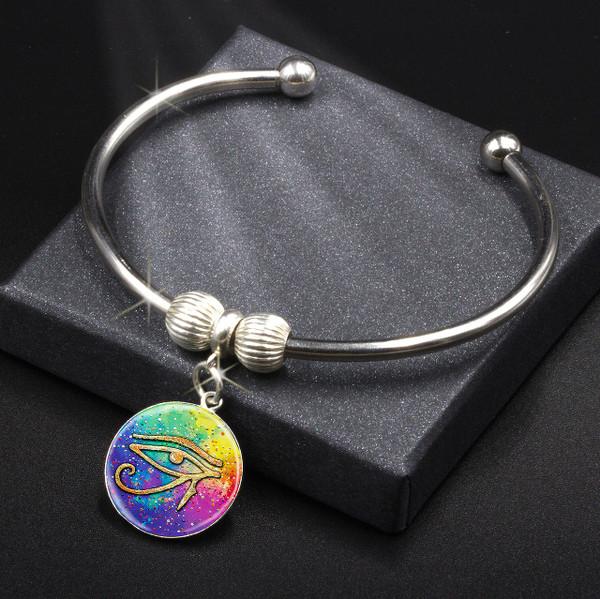 Eye Of Horus Spiritual Protection - Energy Charm Bracelet
