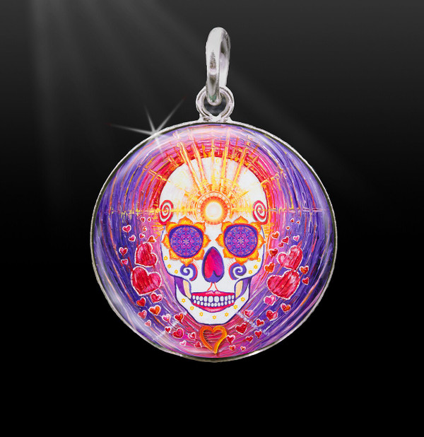 Day Of The Dead Enlightenment Energy Charm