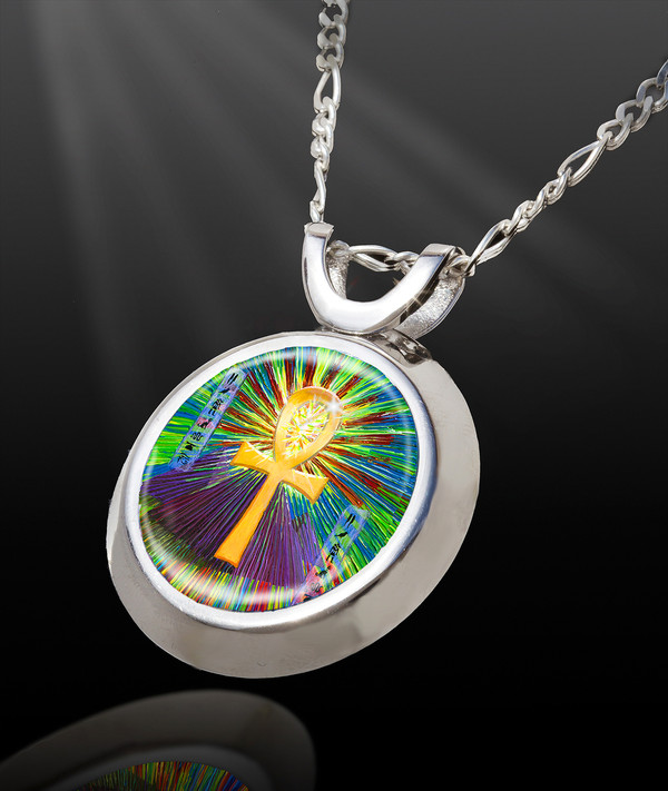 Sacred Ankh Life-Force Energy Talisman  from the Magic Chi Collection