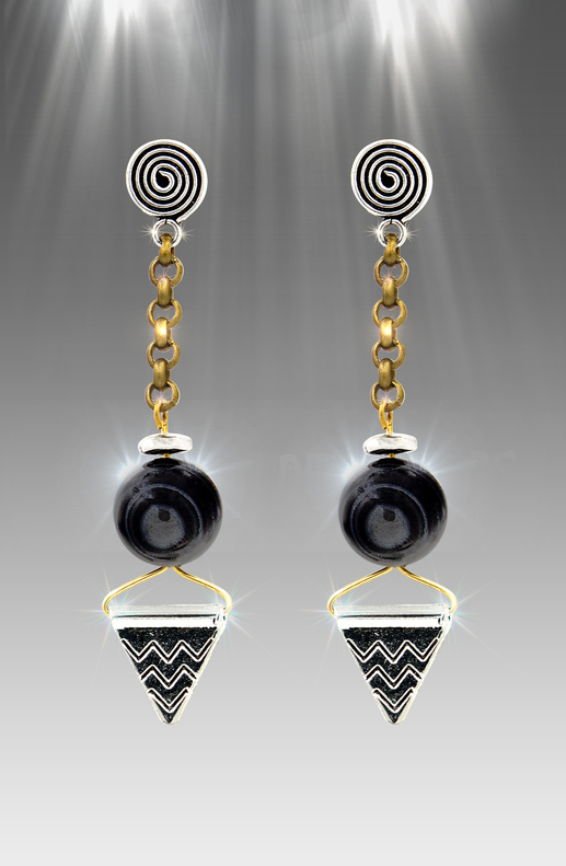 Stone Of Intuition Energy Earrings