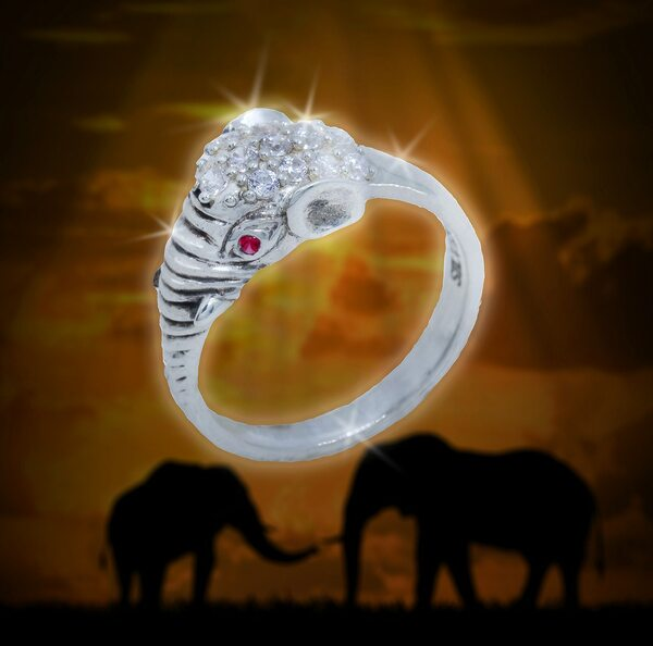 """Indian Elephant God """"New Beginnings"""" Success Ring - Paves the way for success and prosperity in whatever you try."""