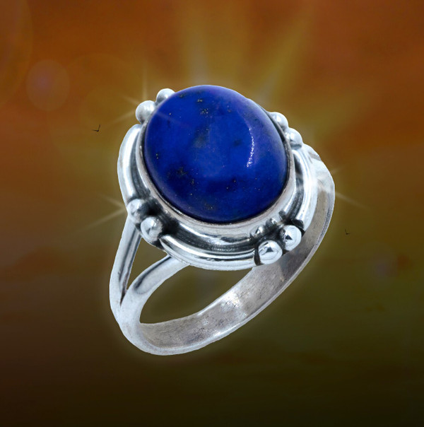 The Four Winds Lapis Energy Ring - Gives you the insight to choose your path.