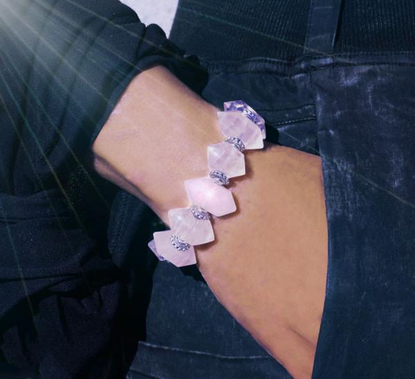 "Rose Quartz ""Power Of Love""  Spiritual Protection Bracelet - The Ultimate Protection Bracelet -  Guaranteed natural stones"