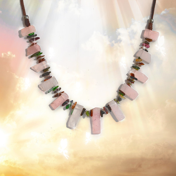 The Fae World Healing Necklace  - Magical, other world healing.