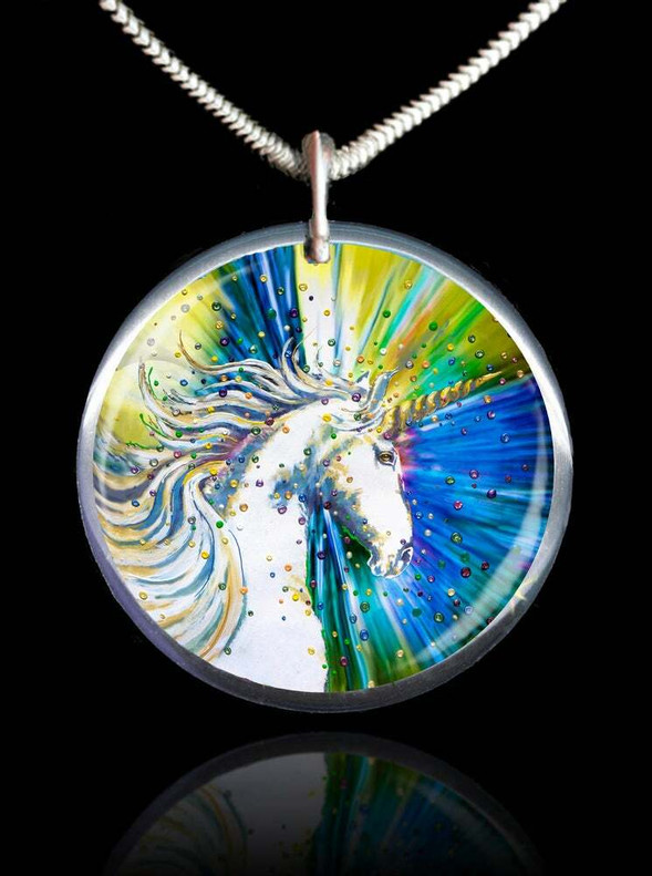 Unicorn Magic Energy Pendant