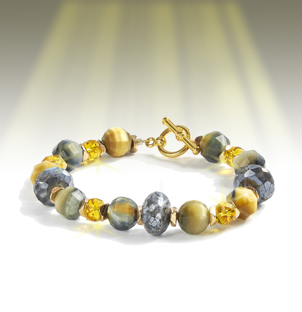 """The """"Always Happy"""" Inner Light Bracelet - Restores and amplifies the feeling that your life is beautiful, blessed, filled with joy and wonder."""