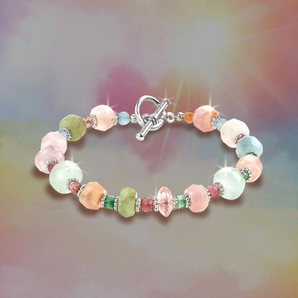 """The """"Broken Heart Healer"""" Energy Bracelet  - The most powerful stones known for healing grief, loss and breakups."""