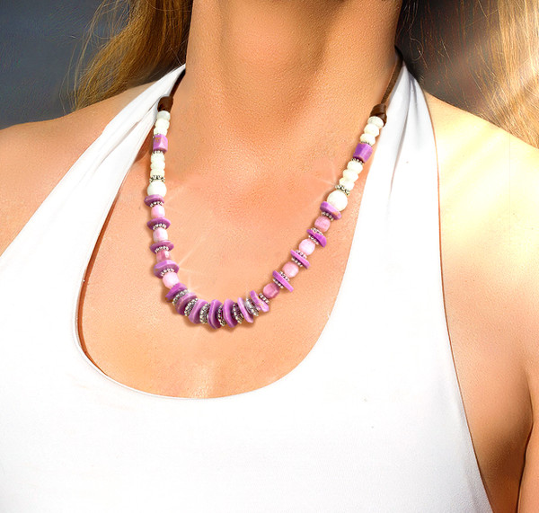 """The """"Heaven Stone"""" Necklace.  Helps you make a divine connection to life-changing, transformational energies."""