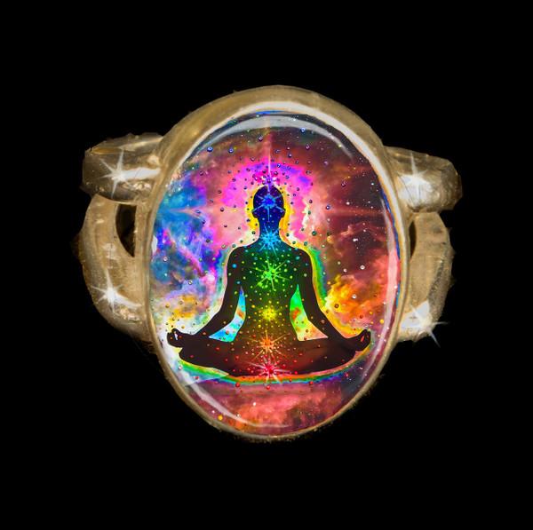 Chakra Healing Energy Ring
