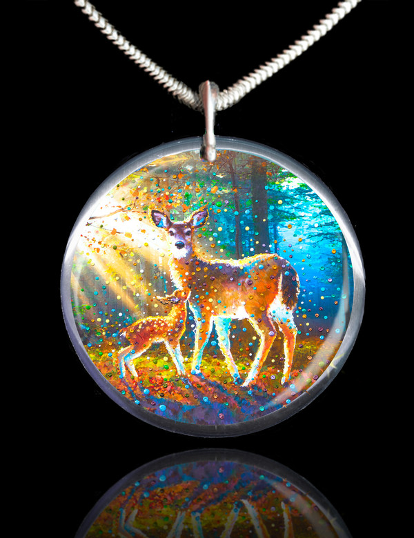 Deer Spirit Energy Pendant