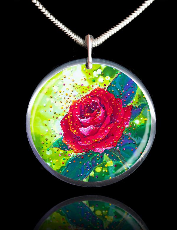 The Sacred Rose Energy Pendant