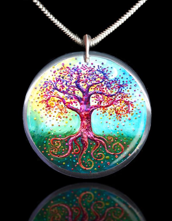 The Tree Of Life Energy Pendant
