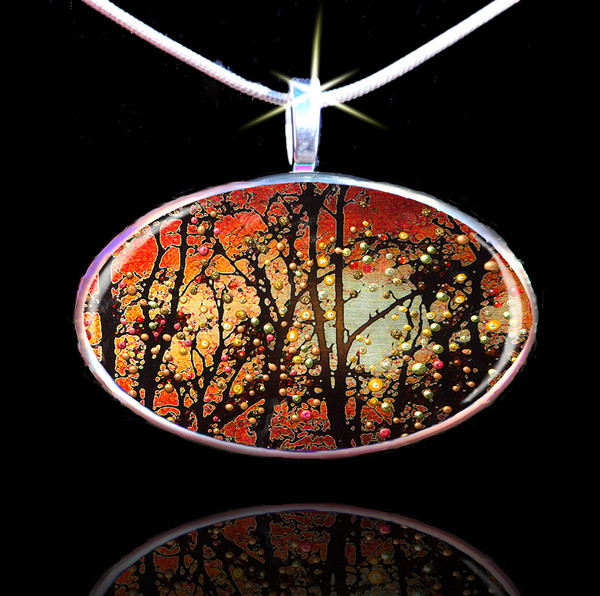 """Winter Solstice - Spirits Promise Of Better Things To Come"" Energy Pendant"