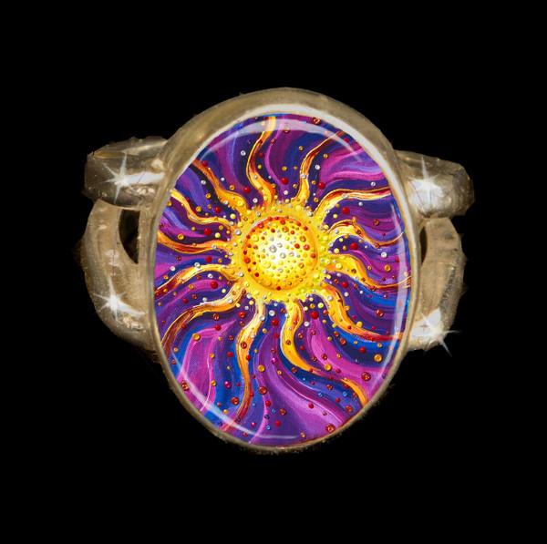 El Sol Yang Energy Empowerment Ring