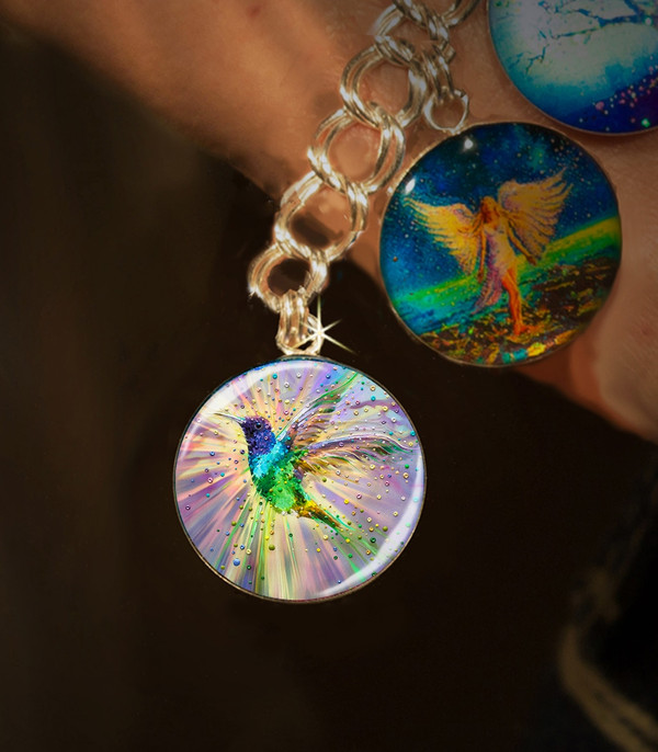 Hummingbird Magic Energy Charm