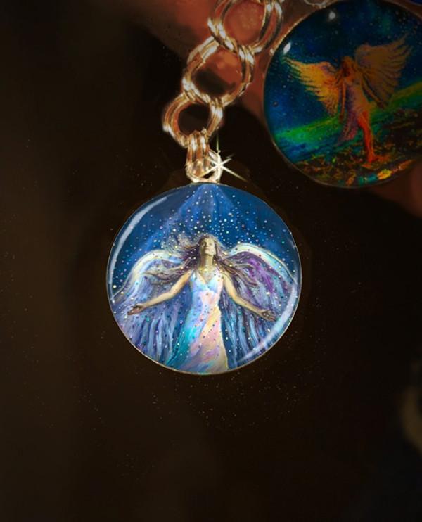 The Blessing Angel Divine Energy Charm