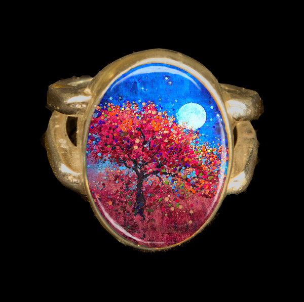Harvest Moon Abundance Ring