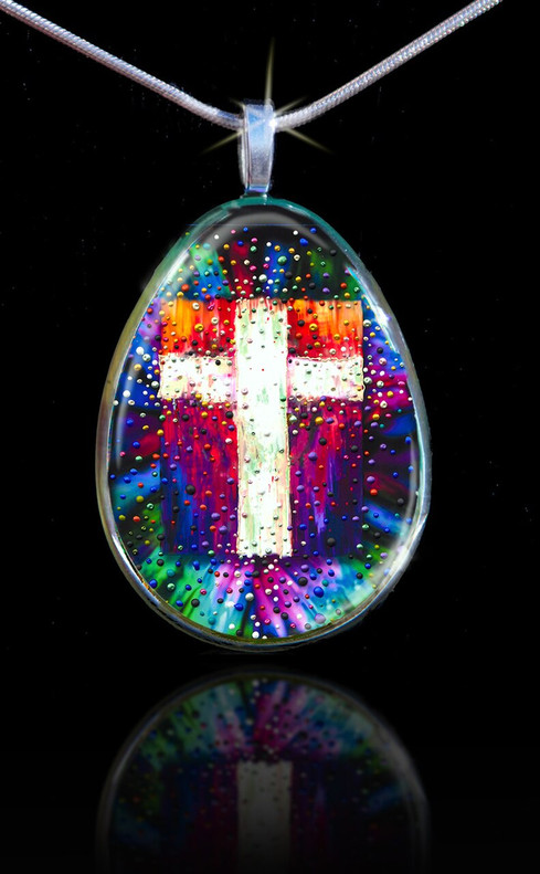 The Divine Energy Cross Pendant