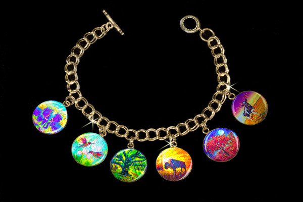 Easy Abundance Energy Charm Bracelet - Attract the wealth and prosperity you seek
