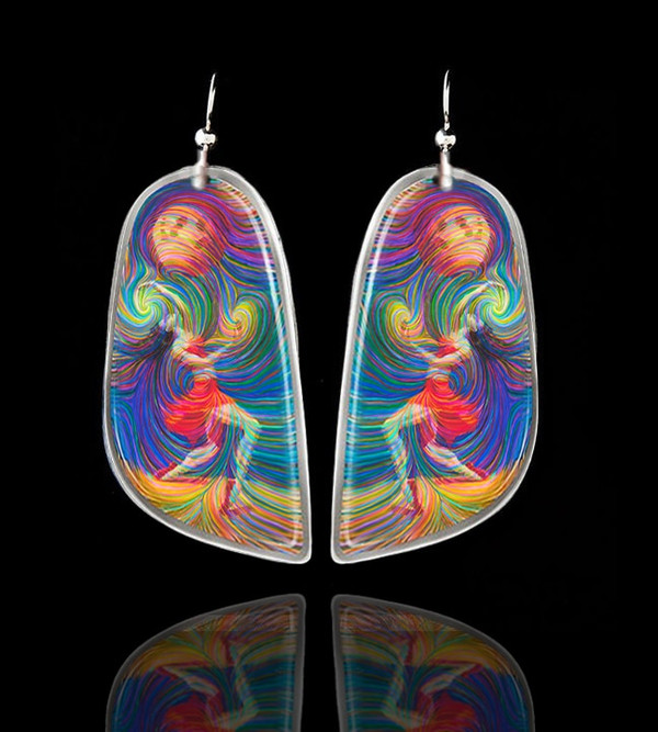 """Moon Dancer"" Energy Earrings"