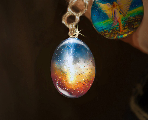 The Creation - Divine Energy Charm