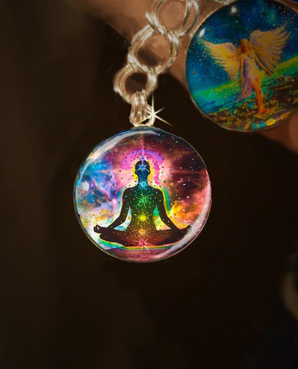 Chakra Healing Energy Charm