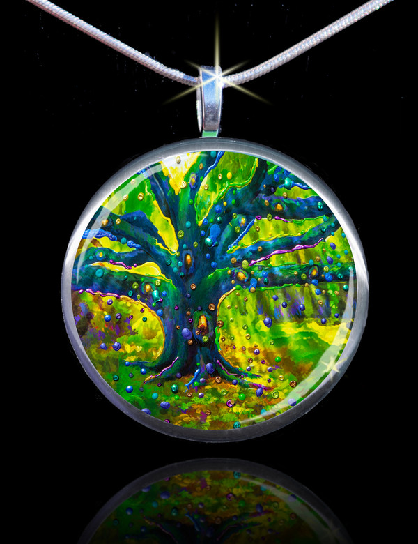 The Fairy Tree - Magical Good Luck Pendant