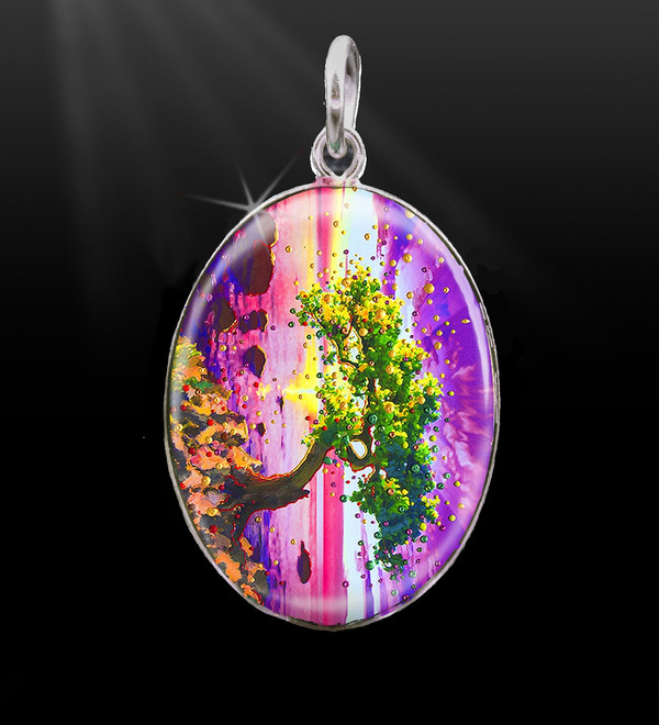 The Forgiveness Tree Energy Charm