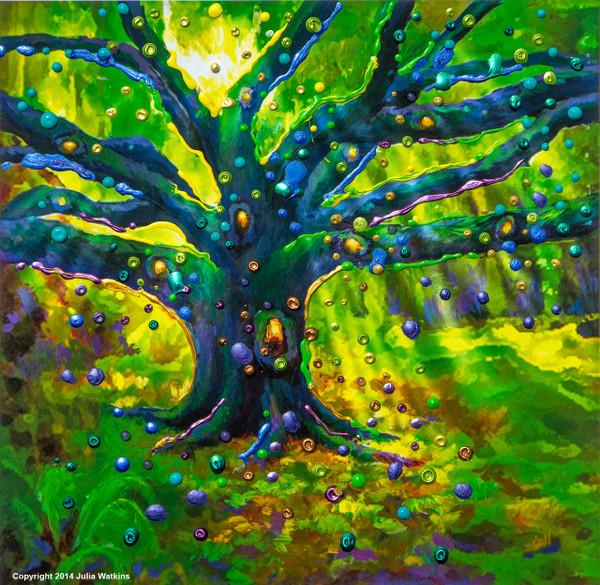 The Fairy Tree - Magical Good Luck Print