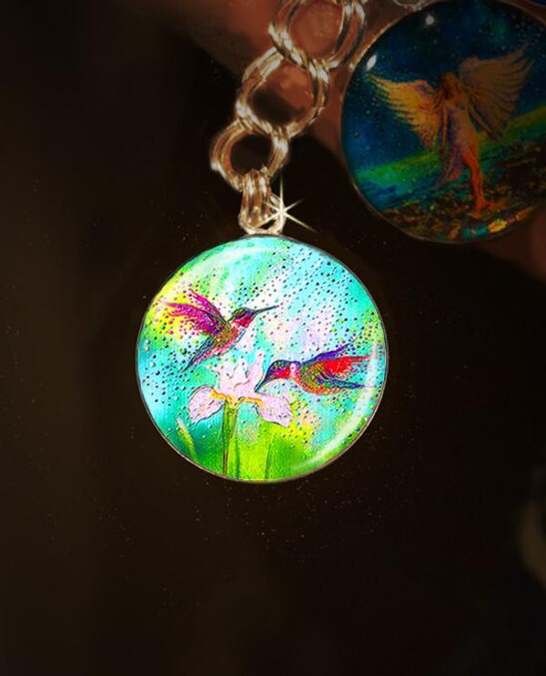 Hummingbirds – Good Luck And Abundance Charm