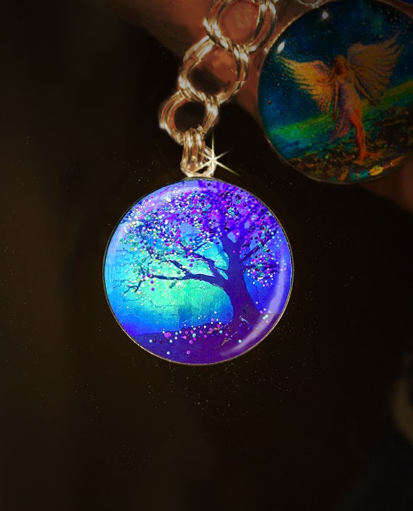 Firefly Tree Bereavement Charm - Dealing With Loss Of A Loved One