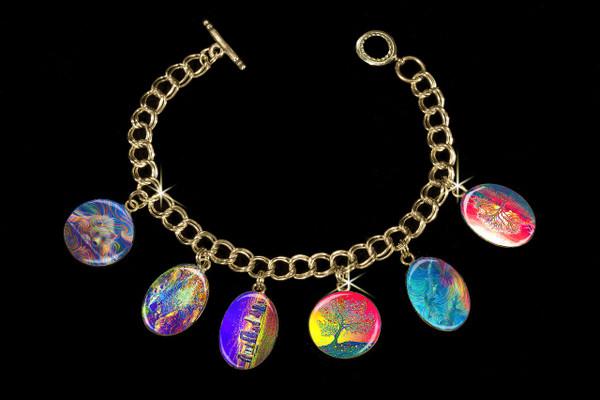 Energy Healing Charm Bracelet