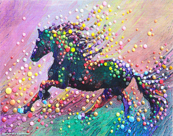 Spirit Horse II - Find the answers within yourself.