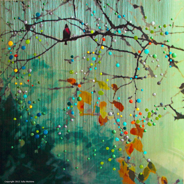 Birdsong - Green Morning Mist -  Introspection. Awakening to new possibilities.