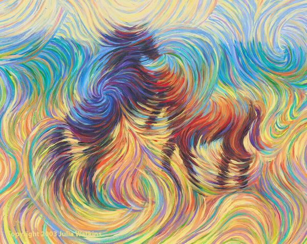 Wild Stallions Print  - Strength. Virility. Freedom.