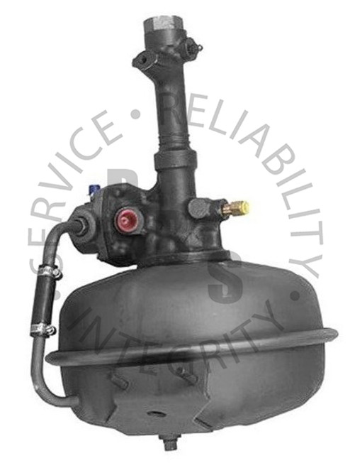 "2508827, Hydrovac, Bendix Fourth Series, Single Diaphragm  12-3/4"" Diameter, 18-5/8 Overall Length, Two Stud Bracket 5/16"" Inverted Flare Input, 5/16"" Inverted Flare Output, 1/2"" Air Cleaner Tube, 1/2"" Inverted Flare Vacuum Supply Chevy / GMC Application"
