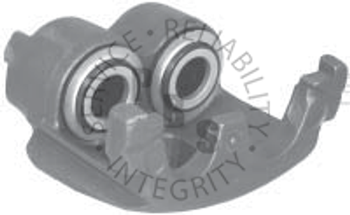 "55314, Caliper, D184 Pads  Bendix 2.88"" Twin Piston  Casting # 4151733  Application: IHC, Navistar"