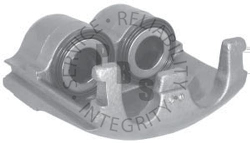 """55604, Caliper, D411 Pads  Kelsey Hayes 2.362"""" (60MM) Twin Piston, Right Hand  Casting # KH12068401  Application: Ford"""