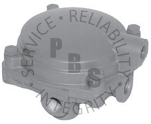 283940X, Relay Valve (6) Wide Flange for Louisville