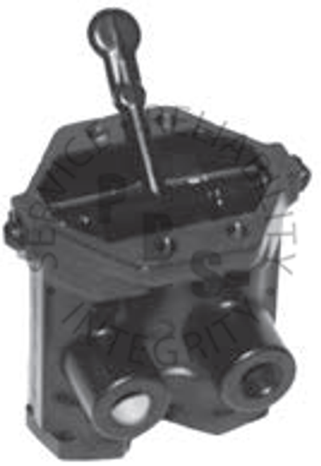 KN20080X, Dash Valve 3 Position Handle with Manual Release in Both Directions
