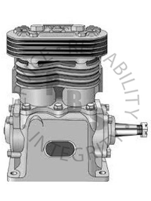 227406X, TF-400, Air Compressor, 4 hole, R.S., E.O.