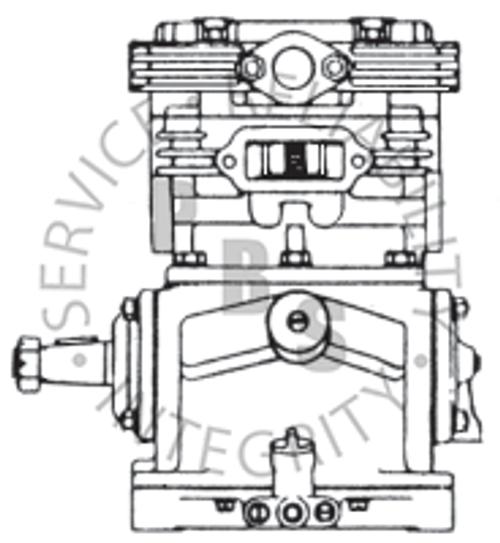 227414X, TF-400, Air Compressor, R.S., Self Lube