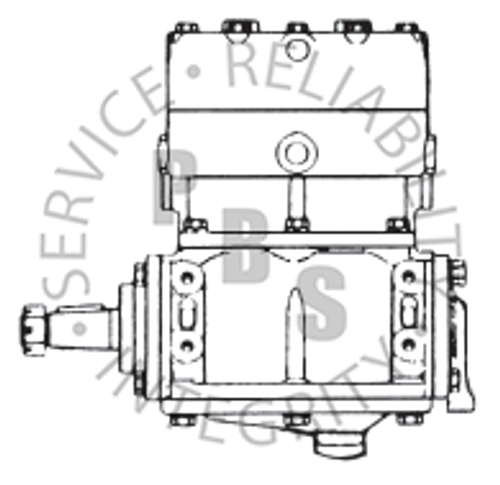 280620X, TF-600, Ford Compressor, L.S., Side Mount **Call for availability and pricing**