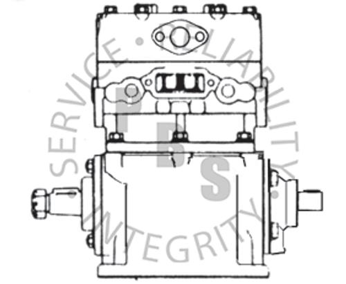281751X, TF-600, IHC Compressor, R.S., Thru-Drive