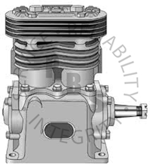 280619X, TF-600, Air Compressor, L.S., Air Cooled