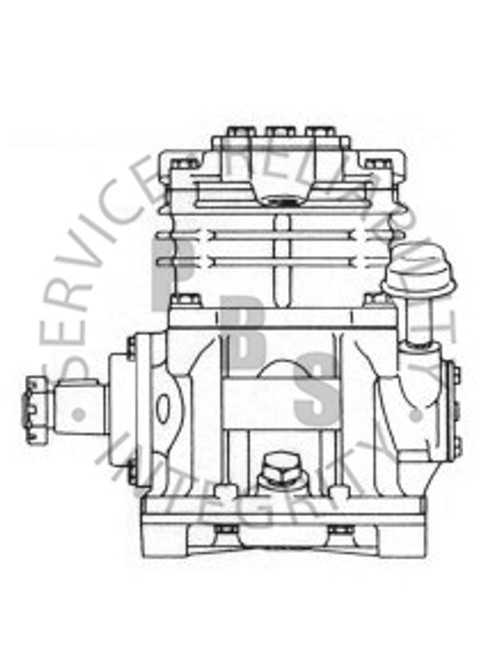 275117X, TF-300, Air Compressor, Self Lube, L.S. **Call for availability and pricing**
