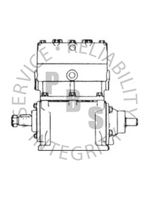 275990X, TF-500, Air Compressor, L.S., Thru-Drive **Call for availability and pricing**